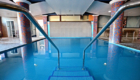 indoor pool stairs